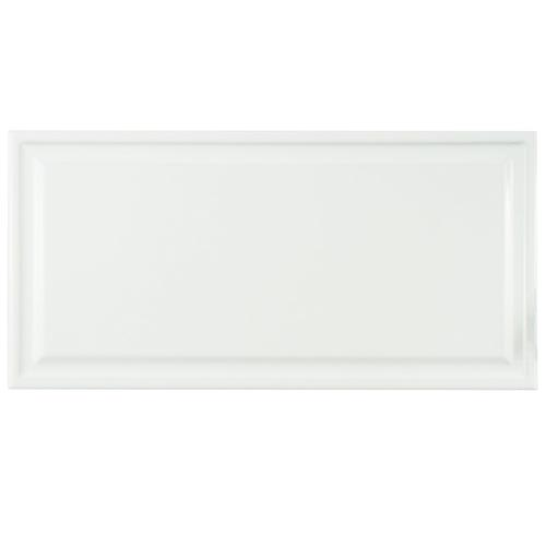 "Hemline White 6""x12"" Ceramic W Tile"