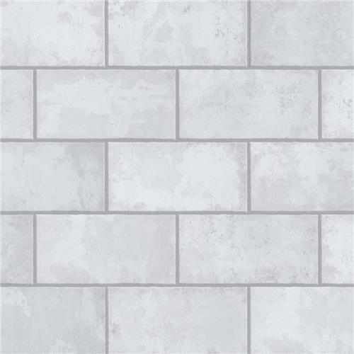 "Biarritz White 3""x6"" Ceramic Wall Subway Tile"