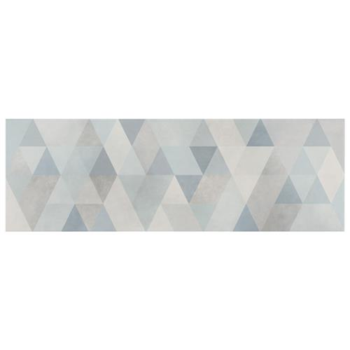 "Hybrid Blue 7-3/4""x23-1/2"" Ceramic W Tile"