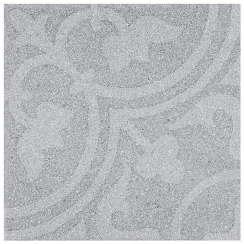 "Picture of Forja Gris 9-7/8"" x 9-7/8"" Porcelain F/W Tile"
