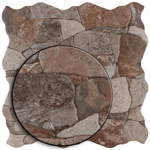 Attica Gris 16 7 8 Quot X 16 7 8 Quot Ceramic F W Tile