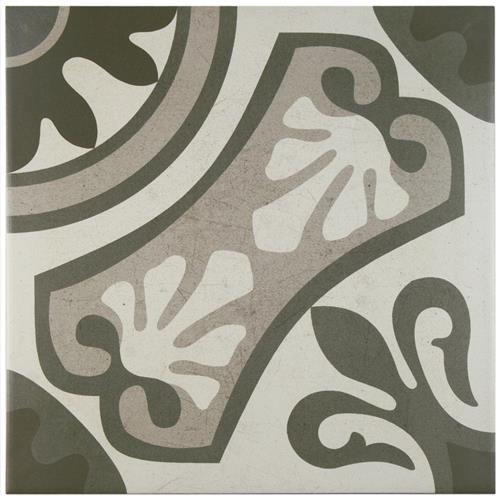 "Picture of 13""x13"" Sofia Gris Ceramic Floor and Wall Tile"