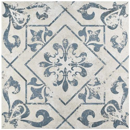 Picture of Lotto Cobalto 17-3/4 in.x17-3/4 in. Ceramic Floor/Wall Tile