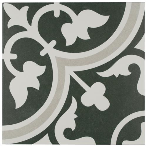 "Picture of Arte Due 9-3/4""x9-3/4"" Porcelain F/W Tile"