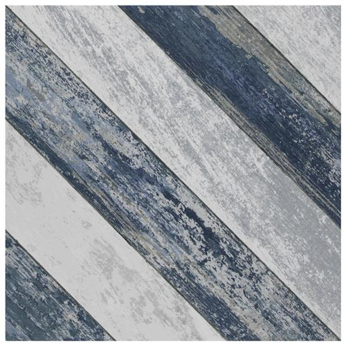 "Picture of Cassis Sete Blue 9-3/4"" x 9-3/4"" Porcelain F/W Tile"