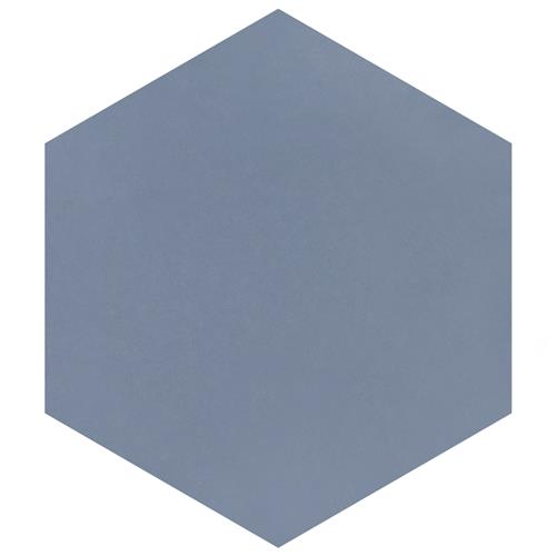"Picture of Textile Basic Hex Ducados 8-5/8""x9-7/8"" Porcelain F/W Tile"