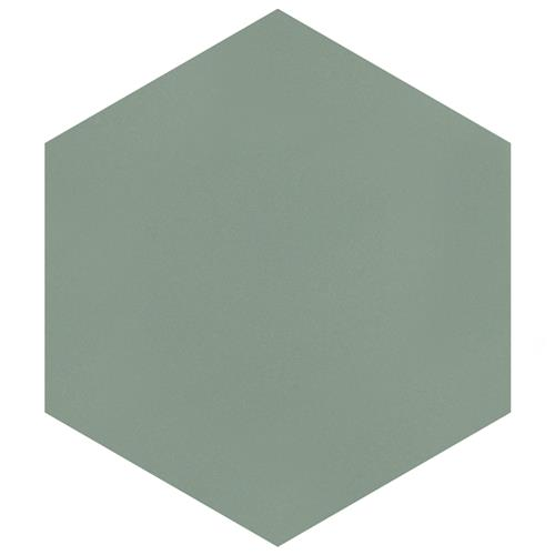 "Picture of Textile Basic Hex Kale 8-5/8""x9-7/8"" Porcelain F/W Tile"