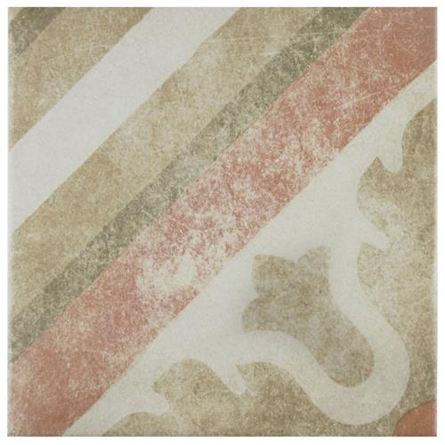 "Picture of Pompei Classic 9-3/4""x9-3/4"" Porcelain F/W Tile"