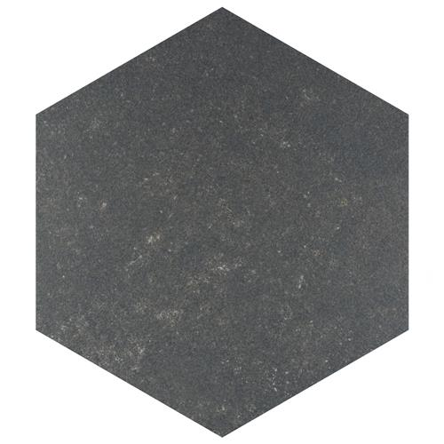 "Picture of Traffic Hex Dark 8-5/8""x9-7/8"" Porcelain F/W Tile"