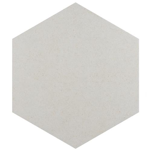 "Picture of Vintage Hex Blanco 8-5/8""x9-7/8"" Porcelain F/W Tile"