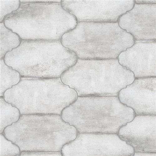 "Alhama Provenzal Grey 6-3/8"" X 12-7/8"" Porc F/W Tile"