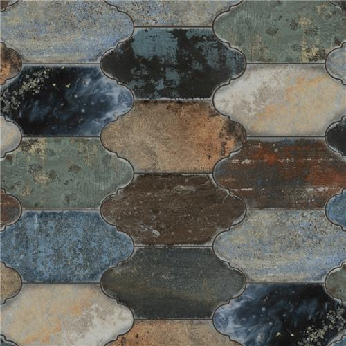 "Picture of Dorne Provenzal Mix 6-3/8""x12-7/8""Porcelain Floor/Wall Tile"