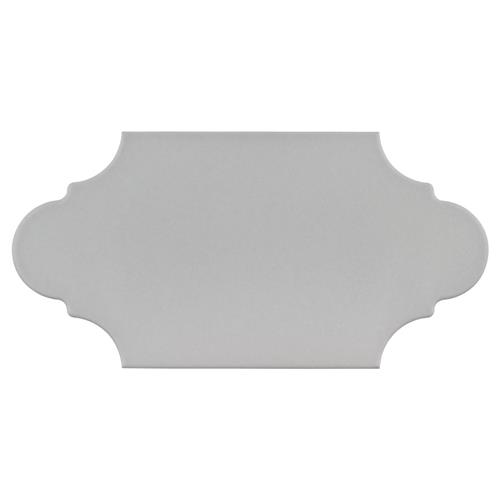 "Picture of Textile Basic Provenzal Silver 6-3/8""x12-7/8"" Porc F/W Tile"