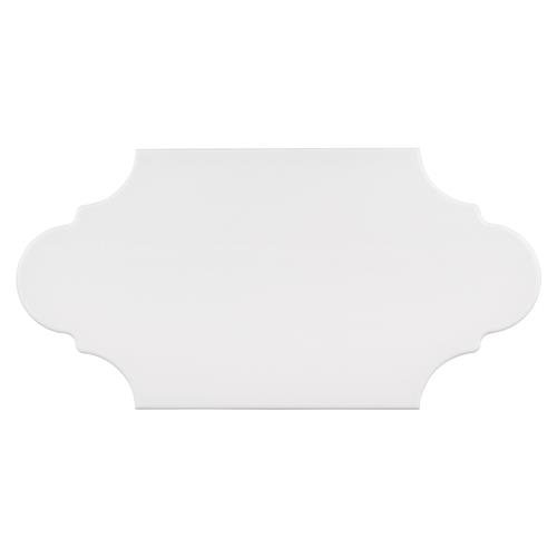 "Picture of Textile Basic Provenzal White 6-3/8"" x 12-7/8"" Porc F/W Tile"