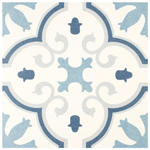 "Picture of Monteca Blue 9-3/4""x9-3/4""  Porcelain F/W Tile"