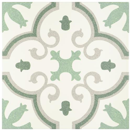 "Picture of Monteca Green 9-3/4""x9-3/4"" Porcelain F/W Tile"