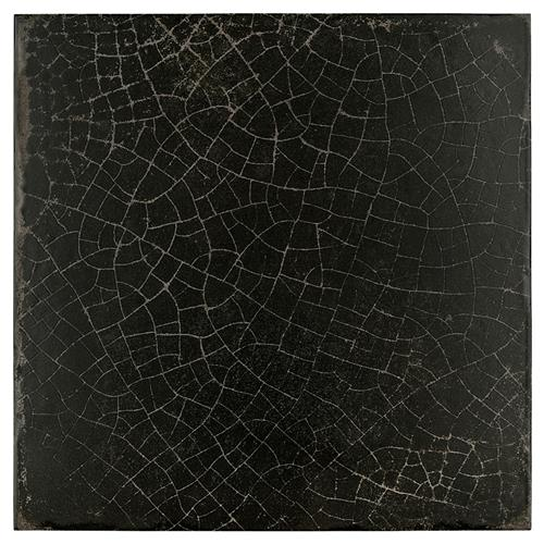 "Picture of Dalia Nero 12-1/8"" x 12-1/8"" Porcelain F/W Tile"