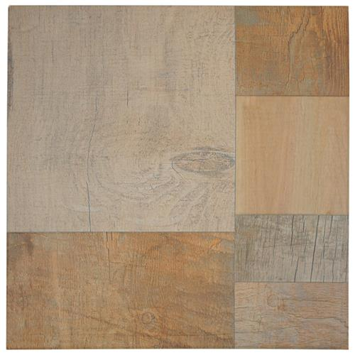 "Picture of Plank Beige 17-3/8""x17-3/8"" Porcelain F/W Tile"