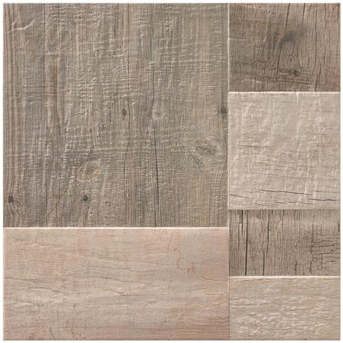 "Picture of Plank Gris 17-3/8""x17-3/8"" Porcelain F/W Tile"