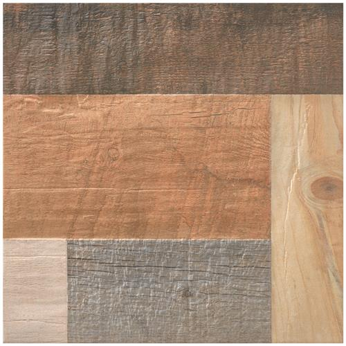 "Picture of Plank Rustico 17-3/8""x17-3/8"" Porcelain F/W Tile"