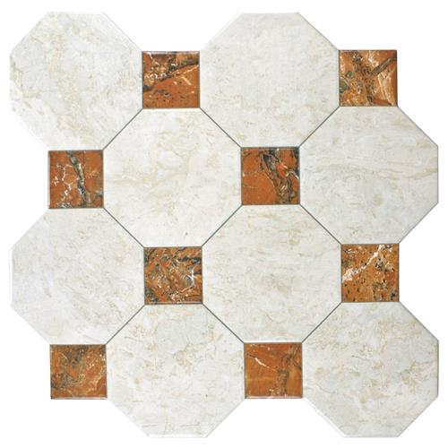 "Picture of 17.75""x17.75"" Opal Rubi Ceramic Wall/Floor Tile"