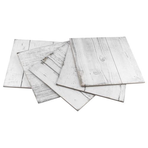 "Picture of Silo Wood White 12-1/4"" x 12-1/4"" Porcelain F/W Tile"