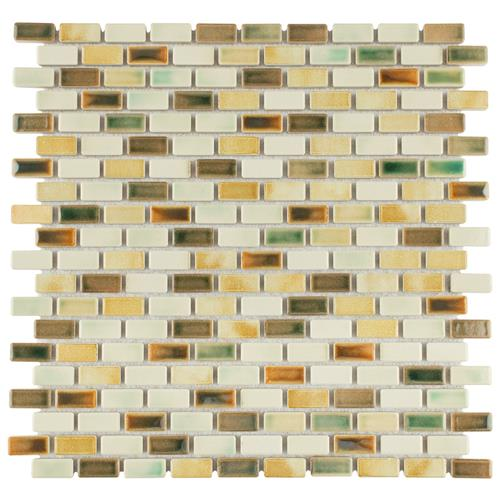 "Picture of Rustica Subway Springfield 11-3/4""x11-3/4"" Porcelain Mos"