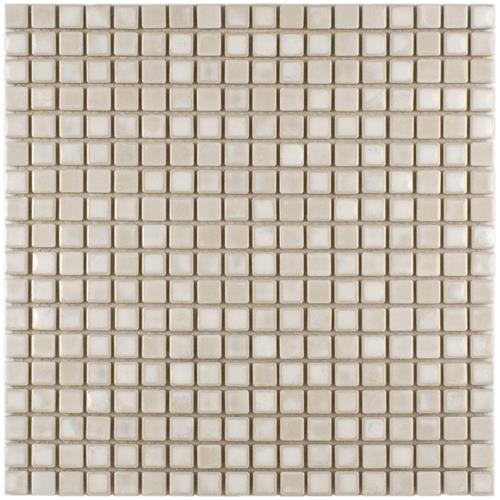 "Picture of 12""x12"" Rustica Mini 9/16"" Glacier Porcelain Mosaic Tile Sht"