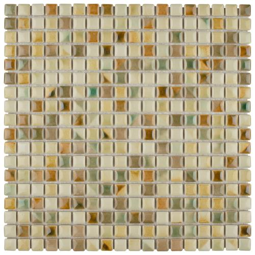"Picture of Rustica Mini Springfield 12""x12"" Porcelain Mos"