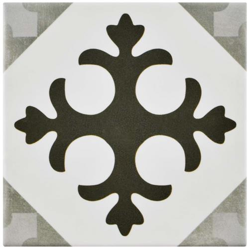 "Picture of Atelier Antracita Latin 5-7/8""x5-7/8"" Ceramic F/W Tile"