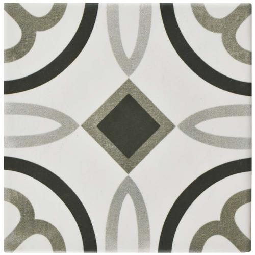 "Picture of Atelier Antracita Marais 5-7/8""x5-7/8"" Ceramic F/W Tile"