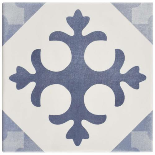 "Picture of Atelier Azul Latin 5-7/8""x5-7/8"" Ceramic F/W Tile"