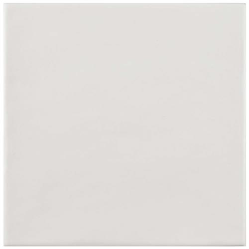 "Picture of Atelier Blanco 5-7/8""x5-7/8"" Ceramic F/W Tile"