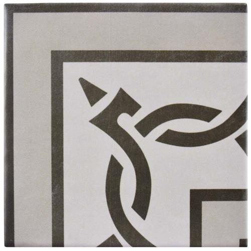 "Picture of Atelier Gris Esquina 5-7/8""x5-7/8"" Ceramic F/W Tile"