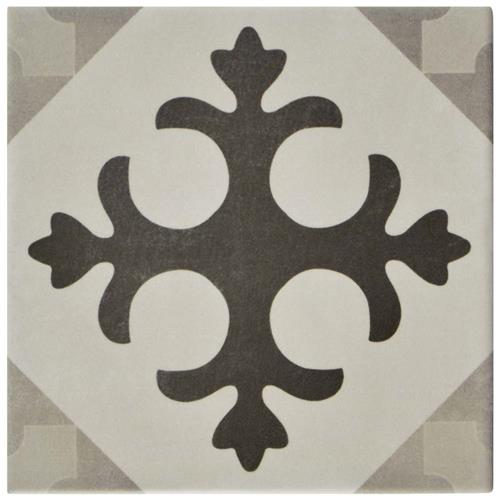 "Picture of Atelier Gris Latin 5-7/8""x5-7/8"" Ceramic F/W Tile"