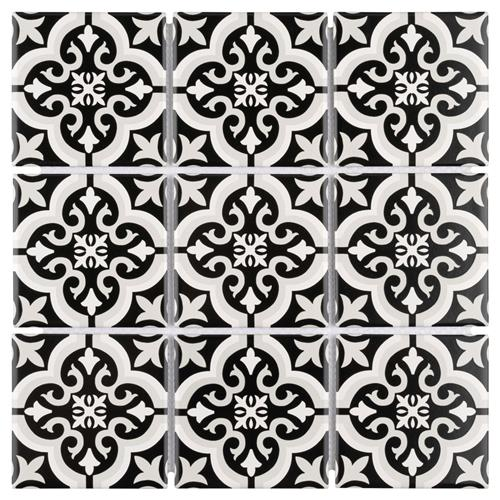 "Picture of Affinity Braga Smoke 11-3/4"" x 11-3/4"" Porcelain Mos"