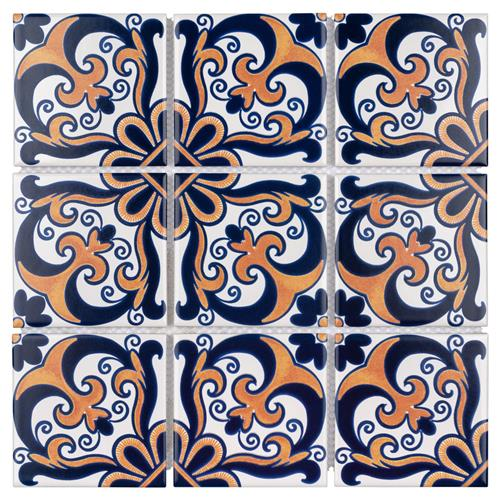"Picture of Affinity Monarch Candio 11-3/4""x11-3/4"" Porcelain Mos"