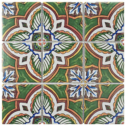 "Picture of Affinity Monarch Stelenes 11-3/4""x11-3/4"" Porcelain Mos"