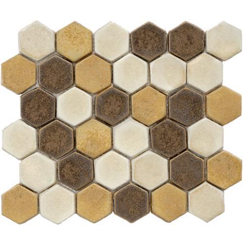 Hex ceramic tile