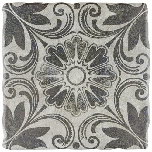 "Picture of Costa Cendra 1 Decor Dahlia 7-3/4""x7-3/4"" Ceramic F/W Tile"