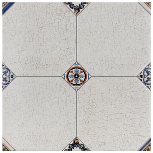 "Picture of Manises Jet Blanco 13-1/8""x13-1/8"" Ceramic F/W Tile"