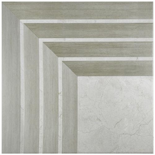 """Picture of Arista Jet Gris 17-3/4""""x17-3/4"""" Ceramic F/W Tile"""