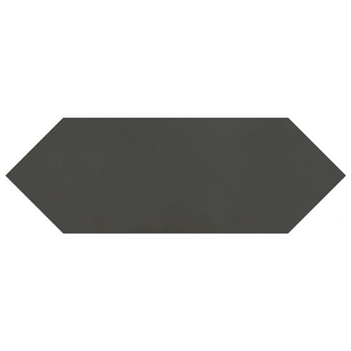 "Picture of Kite Black 4""x11-3/4"" Porcelain F/W Tile"