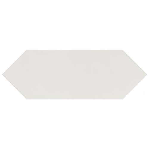 "Picture of Kite White 4""x11-3/4"" Porcelain F/W Tile"