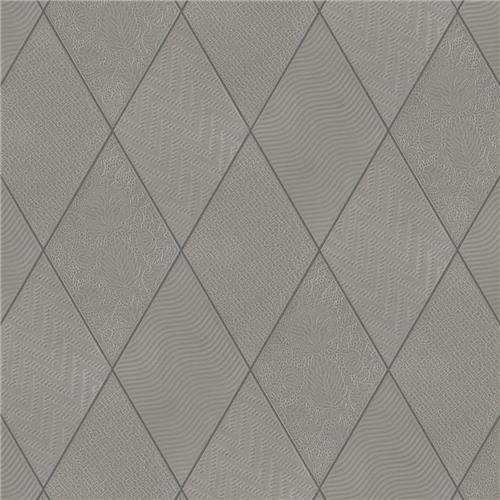 "Picture of Rhombus Dark Grey 5-1/2""x9-1/2"" Porcelain F/W Tile"