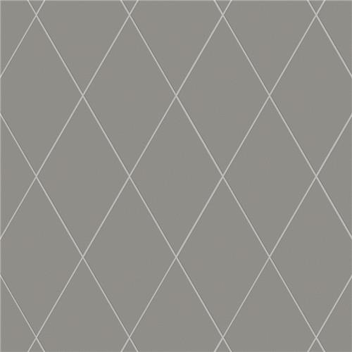 "Picture of Rhombus Smooth Dark Grey 5-1/2""x9-1/2"" Porcelain F/W Tile"
