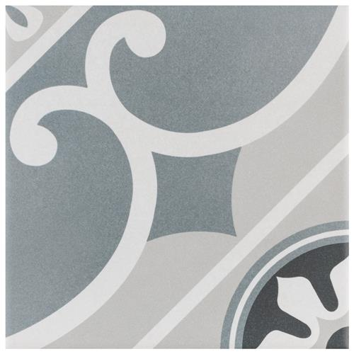 "Picture of Caprice Chatelet 7-7/8""x7-7/8"" Porcelain F/W Tile"