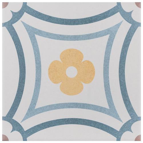 "Picture of Caprice Saint Tropez 7-7/8""x7-7/8"" Porcelain F/W Tile"