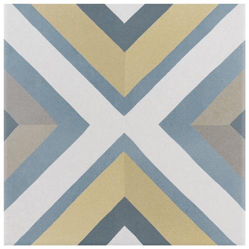 "Picture of Caprice Colors Square 7-7/8""x7-7/8"" Porcelain F/W Tile"