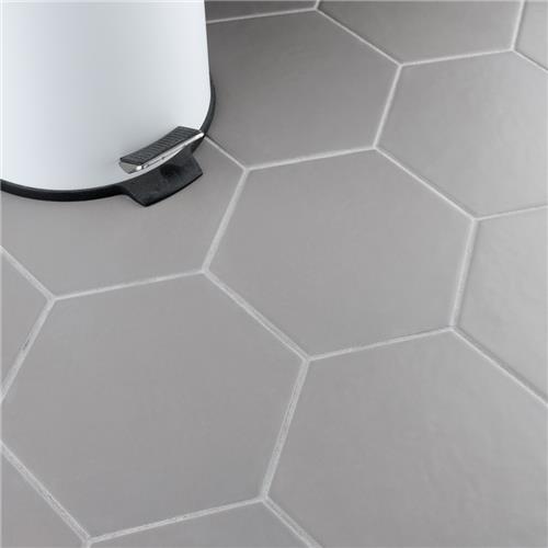 Hexatile Matte Gris 7 Quot X8 Quot Porcelain F W Tile